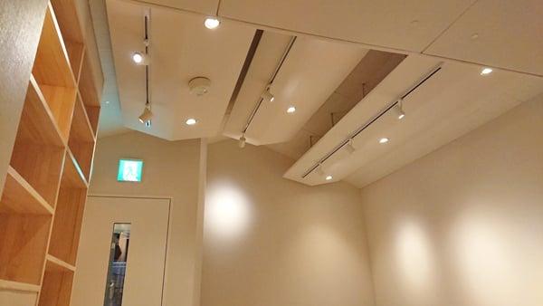 音楽教室の天井