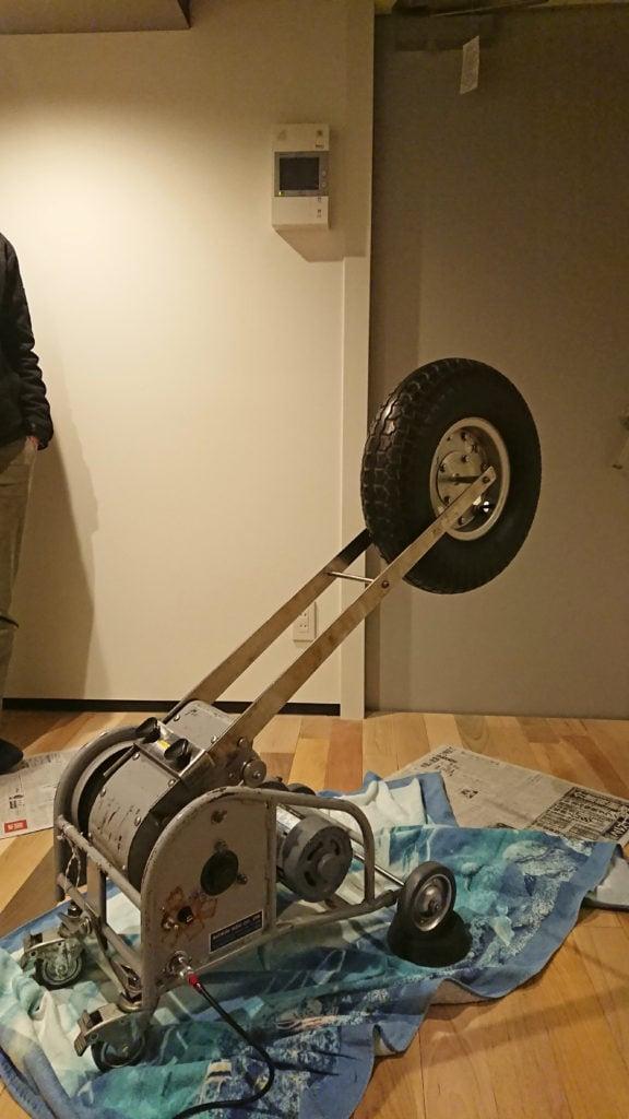 タイヤで測定
