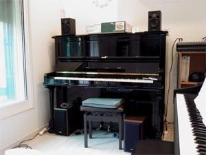 アップライトピアノ防音室