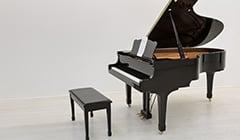 ピアノやドラム、管弦楽器の防音室