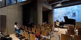 音楽ホールやライブハウス、各種スタジオの設計・施工
