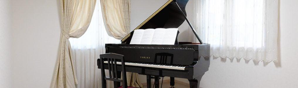 ピアノ教室の内観