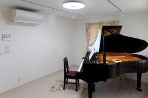 ピアノ音楽教室の内観3