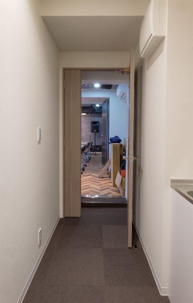 廊下からの写真