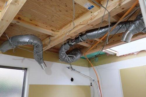 換気設備の工事