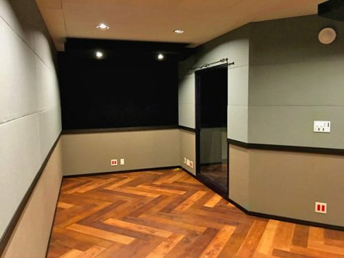 スタジオ入り口